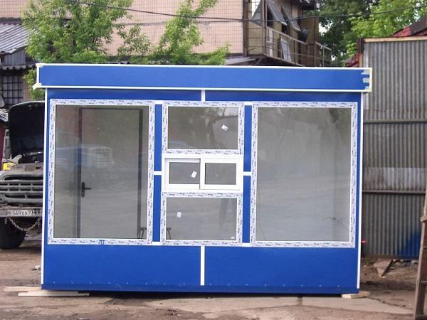 Торговый киоск в Беларуси.